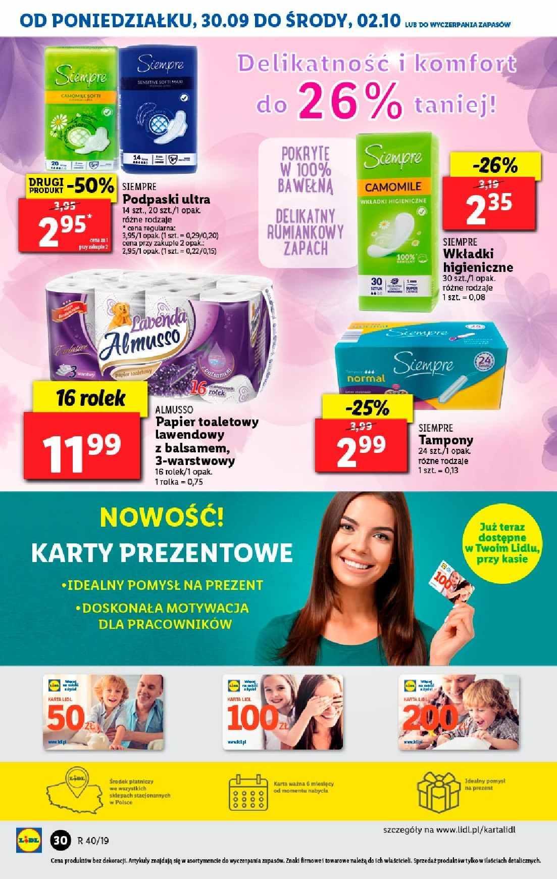 Gazetka promocyjna Lidl do 02/10/2019 str.29