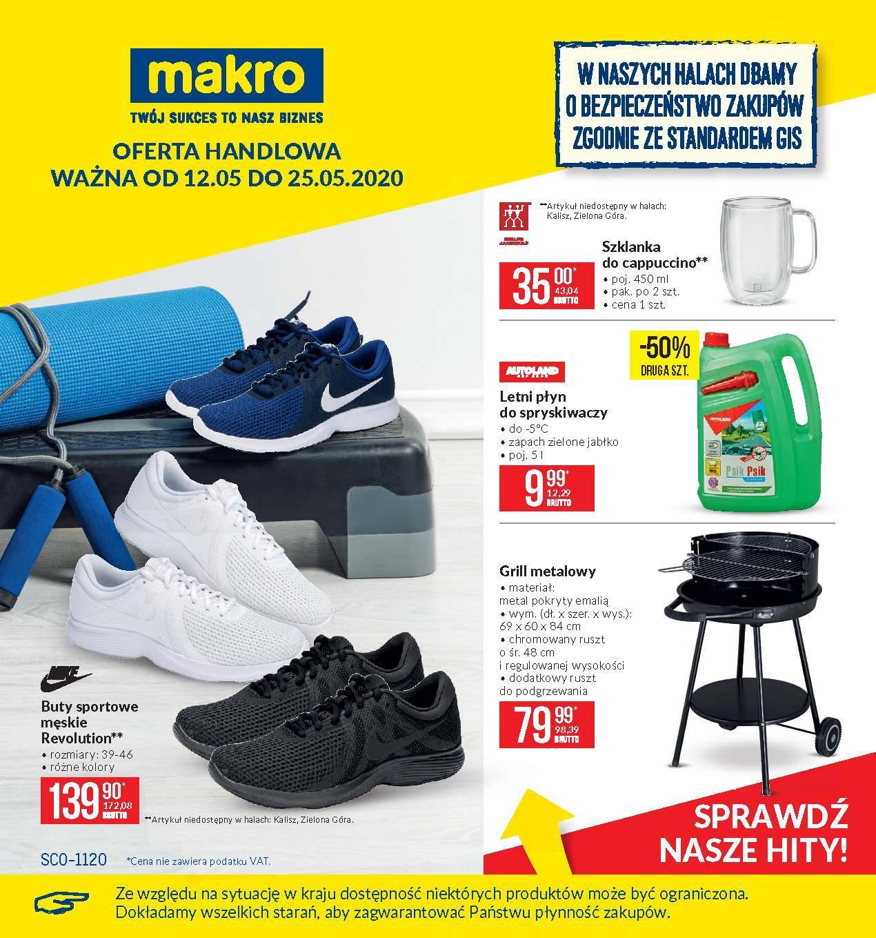 Gazetka promocyjna MAKRO do 25/05/2020 str.1