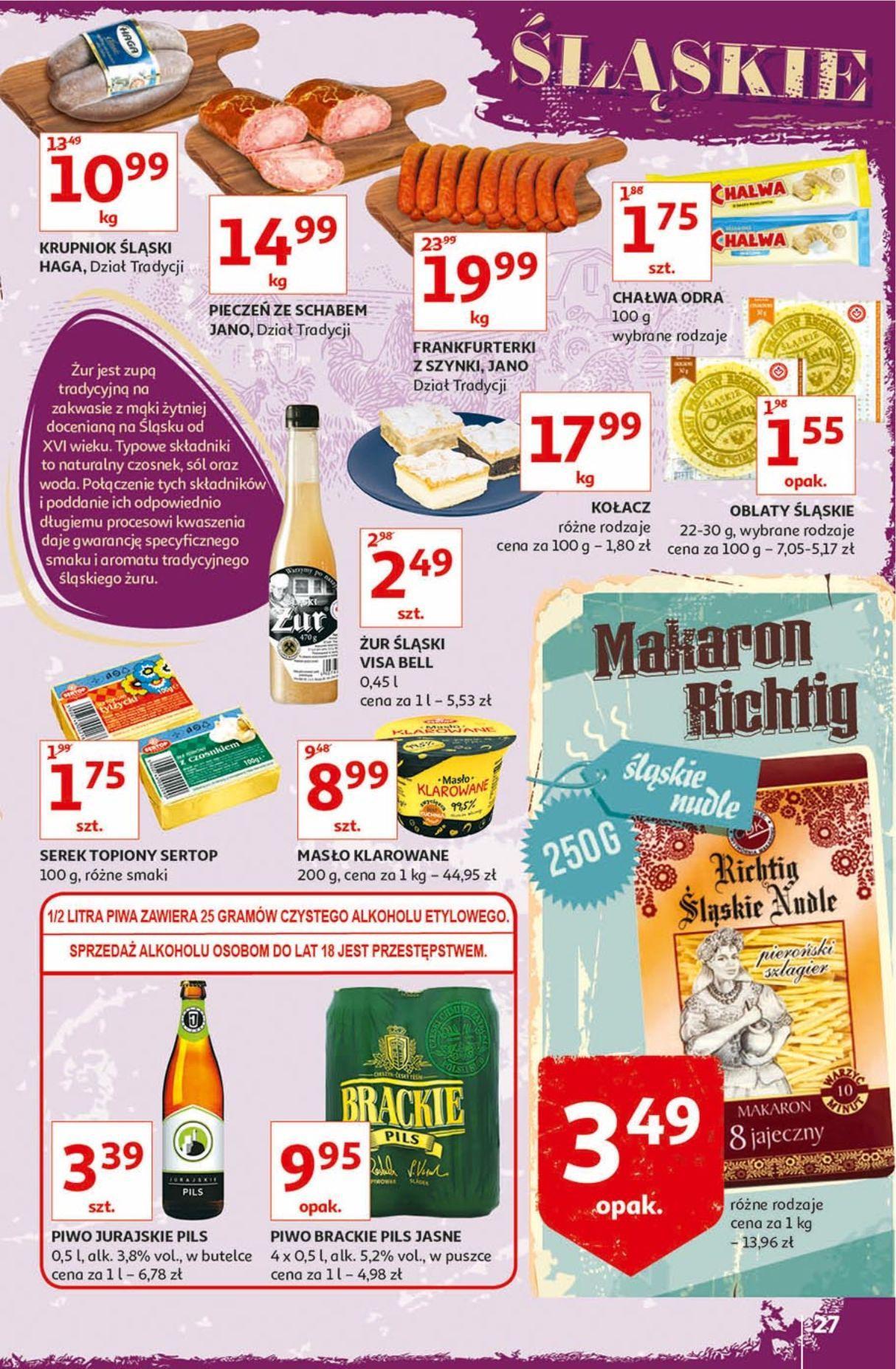 Gazetka promocyjna Auchan do 18/09/2019 str.27