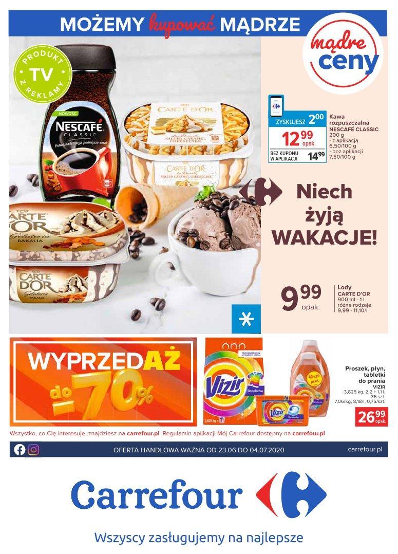Gazetka promocyjna Carrefour do 04/07/2020 str.0