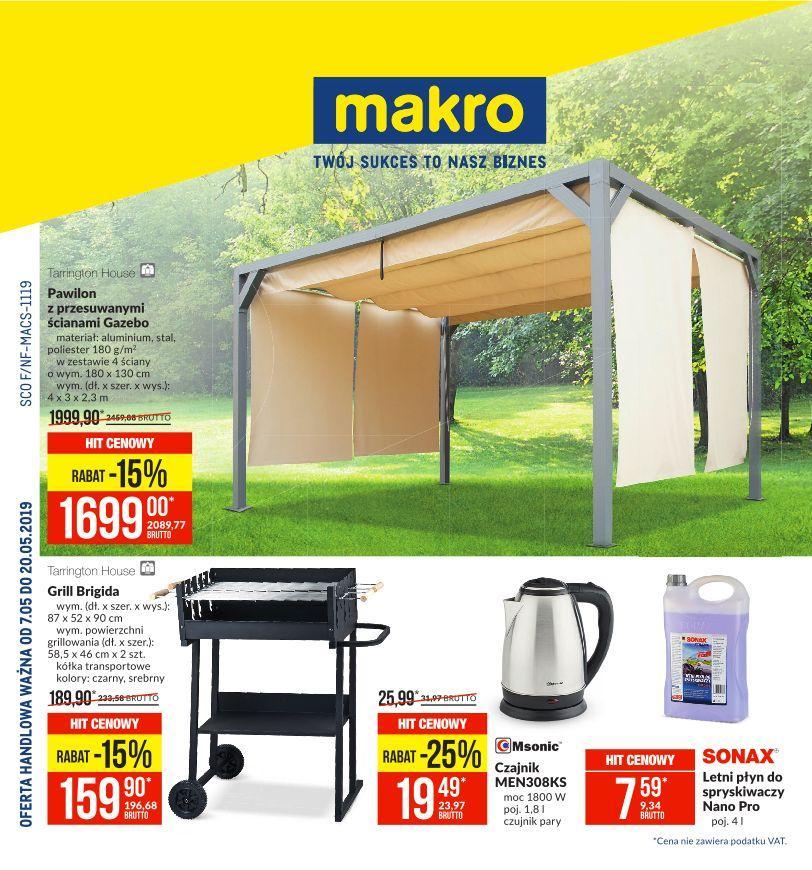 Gazetka promocyjna MAKRO do 20/05/2019 str.1