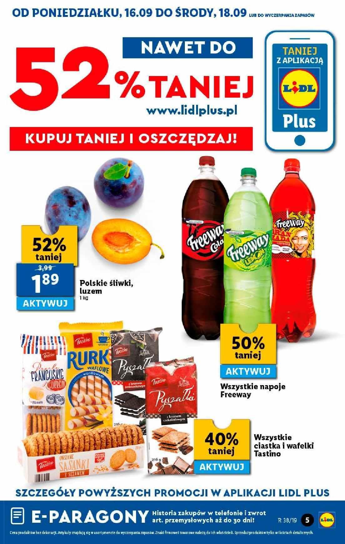 Gazetka promocyjna Lidl do 18/09/2019 str.4