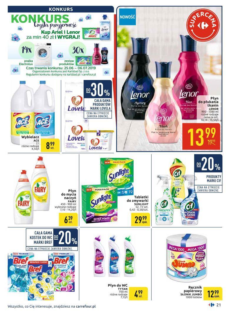 Gazetka promocyjna Carrefour do 06/07/2019 str.20