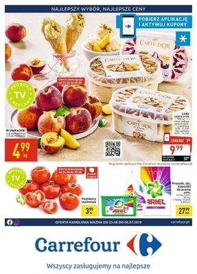 Carrefour gazetka - od 25/06/2019 do 06/07/2019