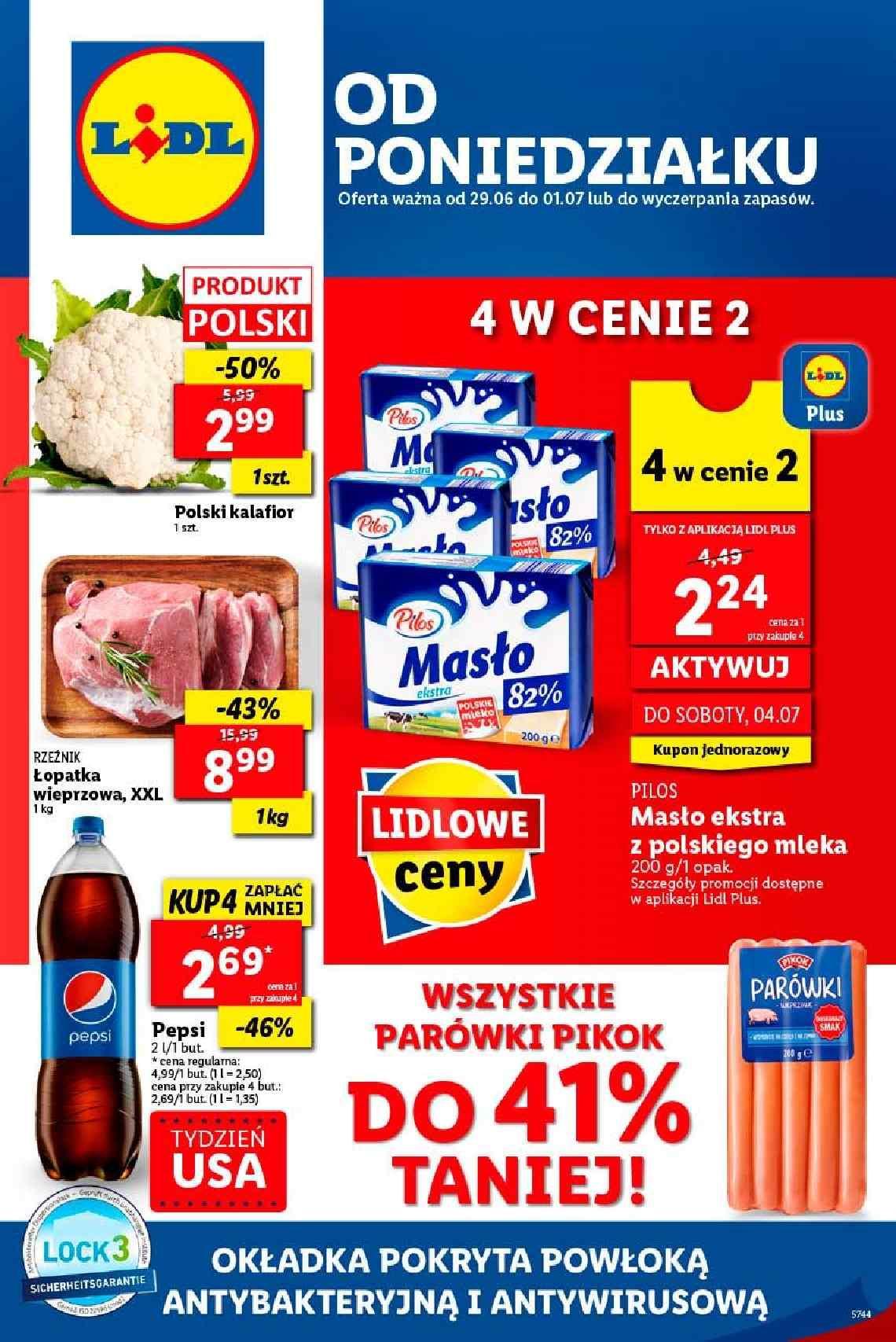 Gazetka promocyjna Lidl do 01/07/2020 str.1