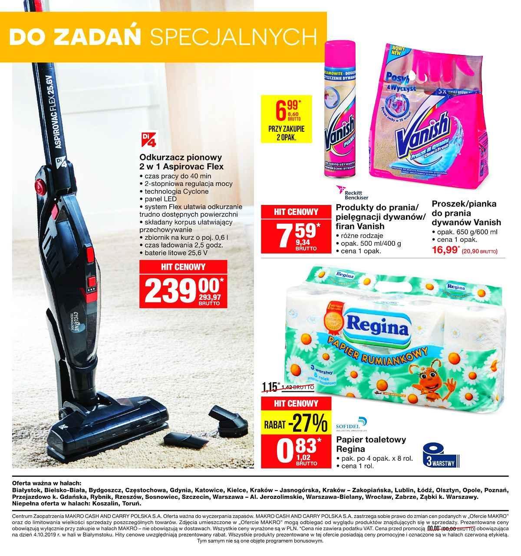 Gazetka promocyjna MAKRO do 04/11/2019 str.24
