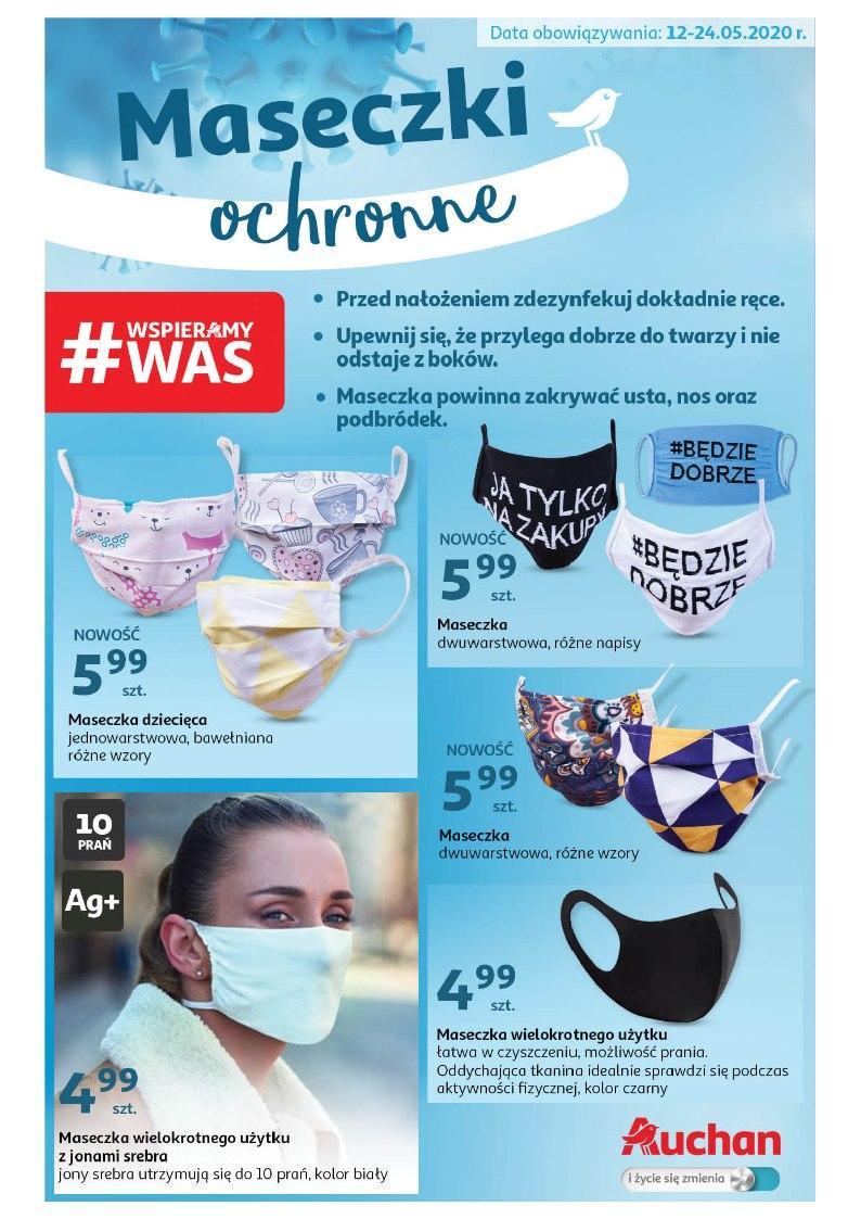 Gazetka promocyjna Auchan do 24/05/2020 str.1