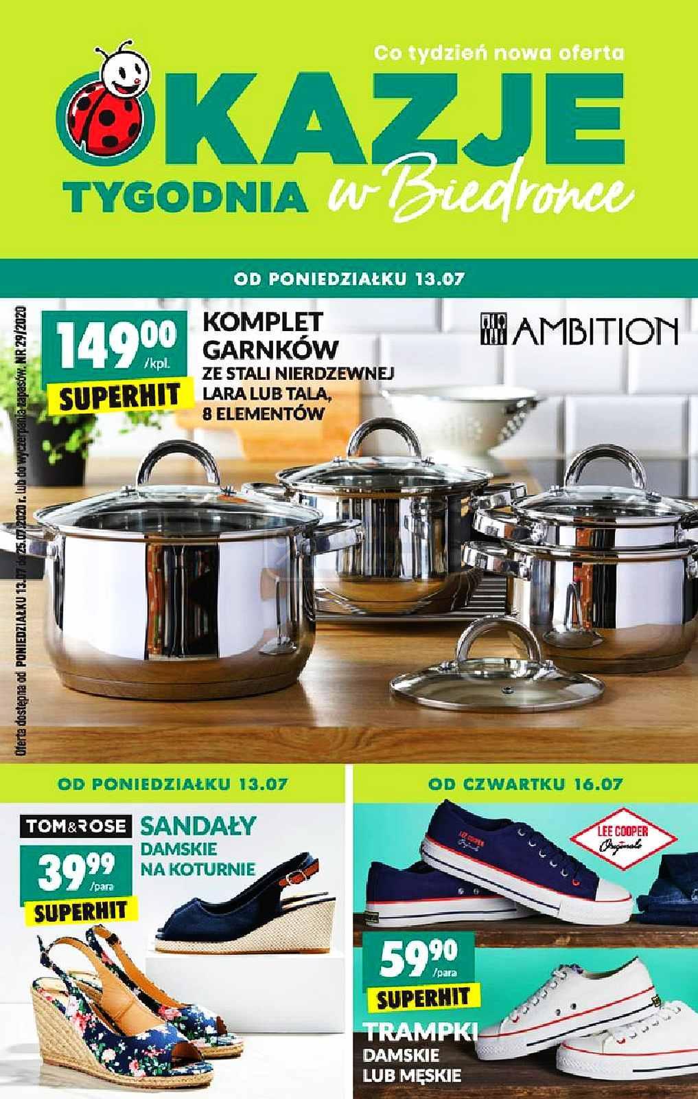 Gazetka promocyjna Biedronka do 25/07/2020 str.1