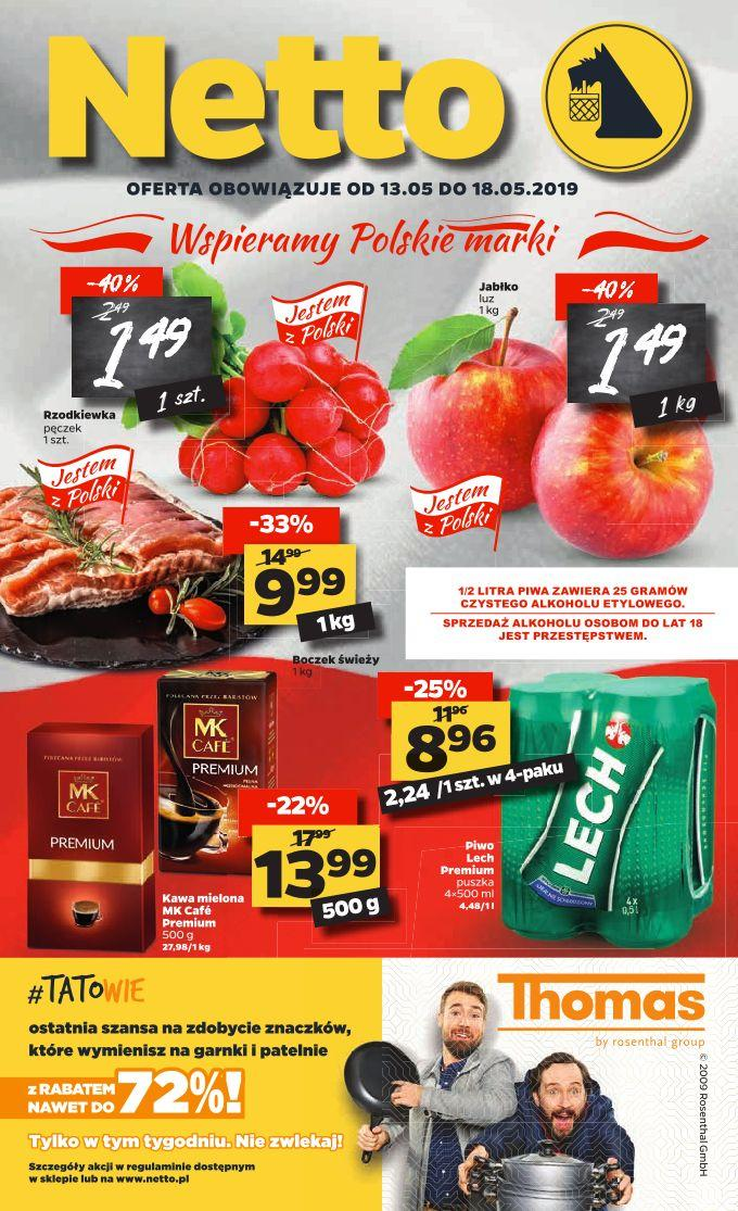 Gazetka promocyjna Netto do 18/05/2019 str.1