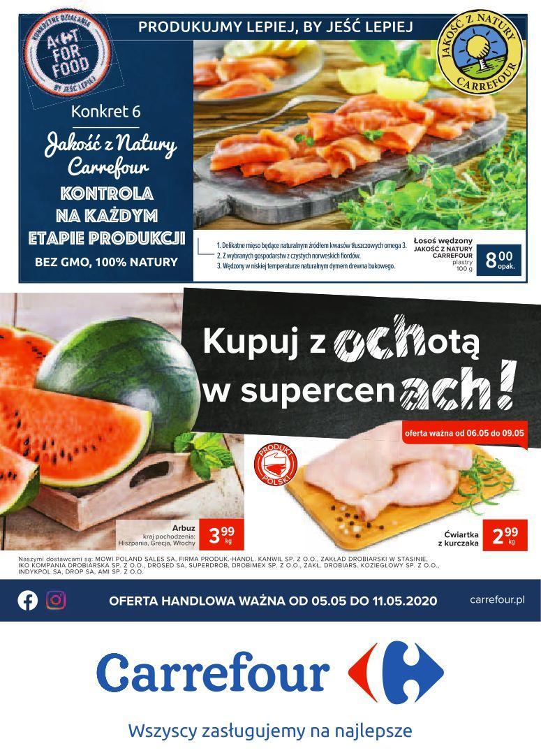 Gazetka promocyjna Carrefour do 11/05/2020 str.0