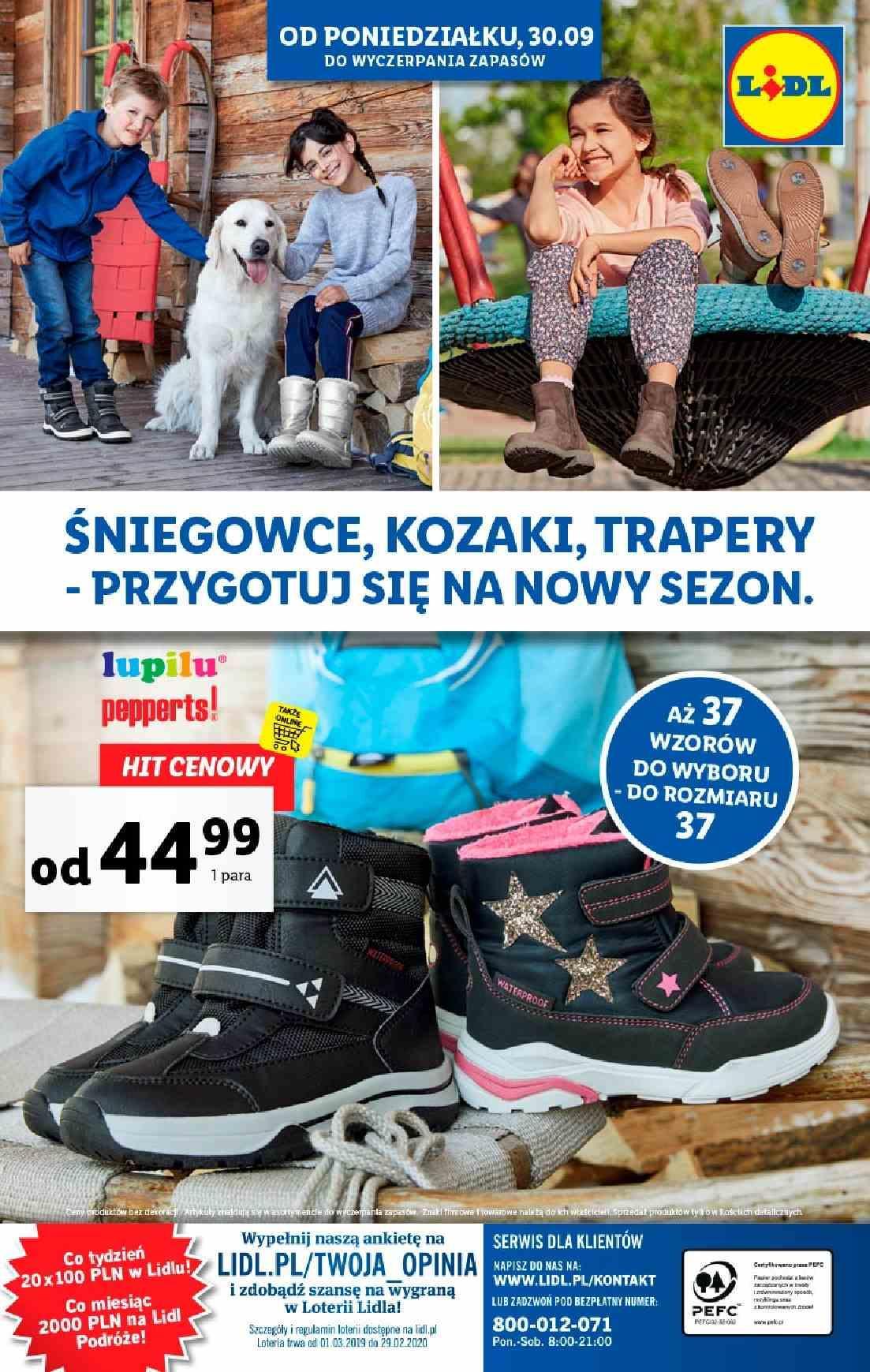 Gazetka promocyjna Lidl do 02/10/2019 str.31