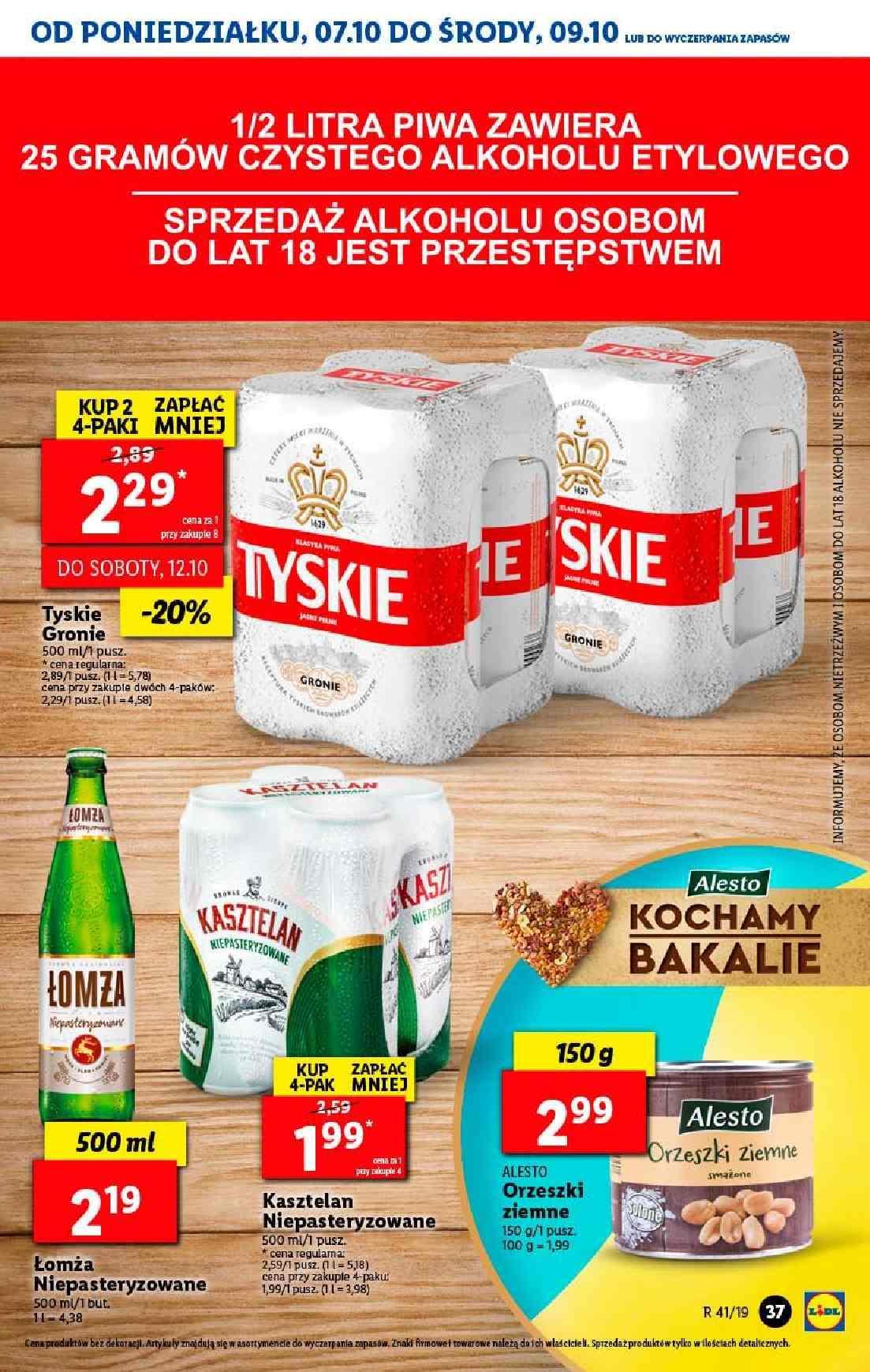 Gazetka promocyjna Lidl do 09/10/2019 str.36
