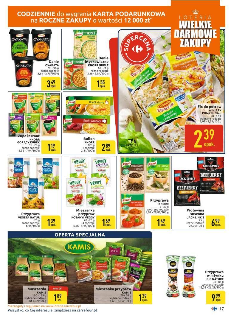 Gazetka promocyjna Carrefour do 19/10/2019 str.17