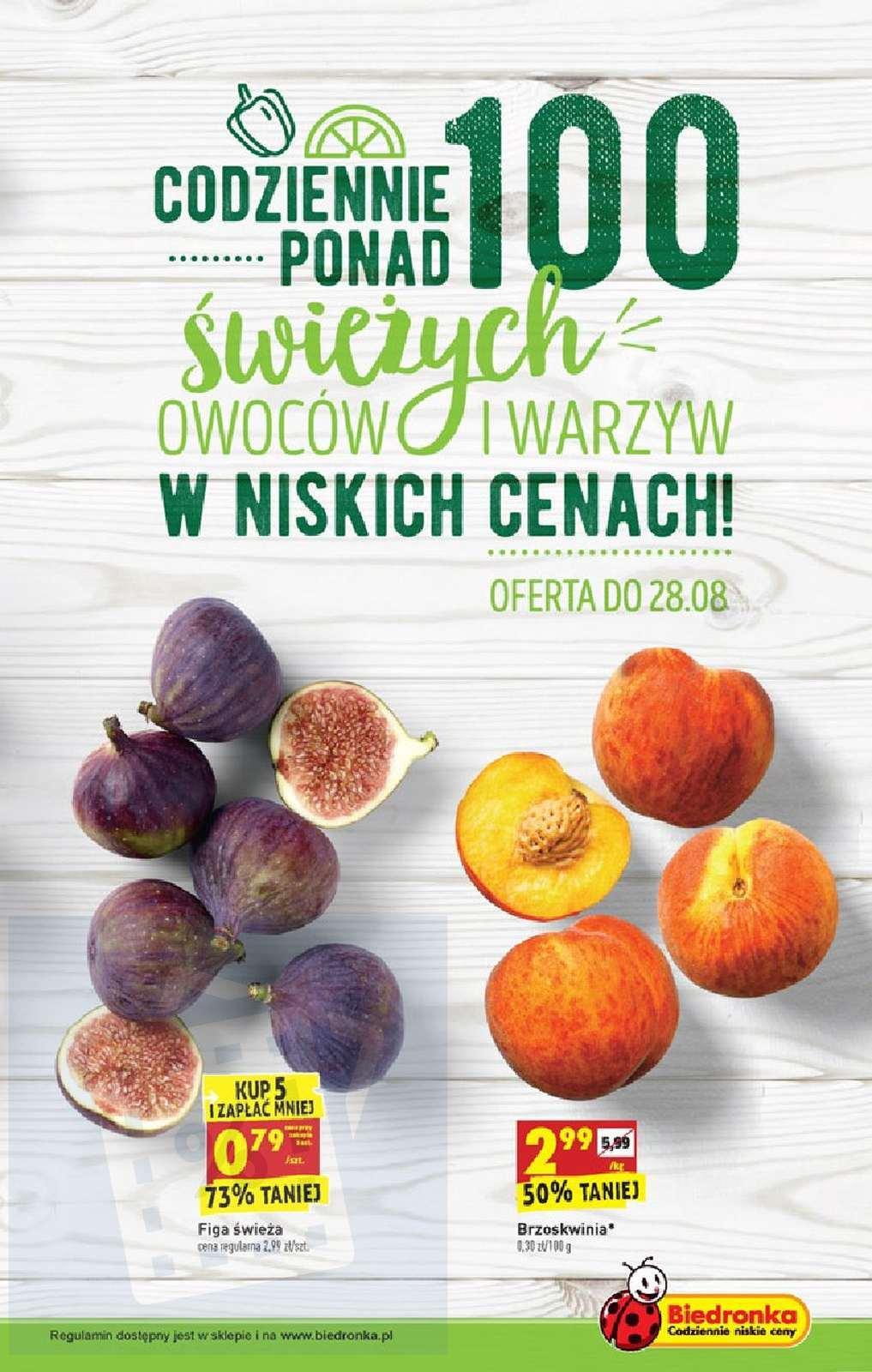 Gazetka promocyjna Biedronka do 31/08/2019 str.10