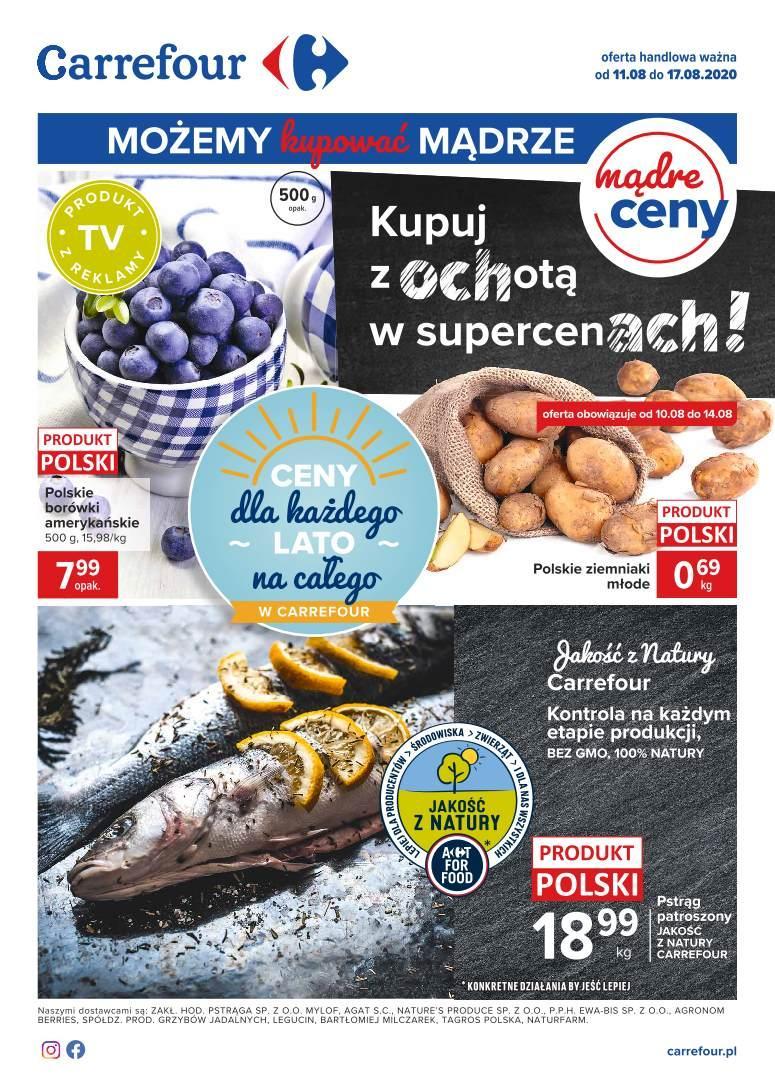 Gazetka promocyjna Carrefour do 17/08/2020 str.0