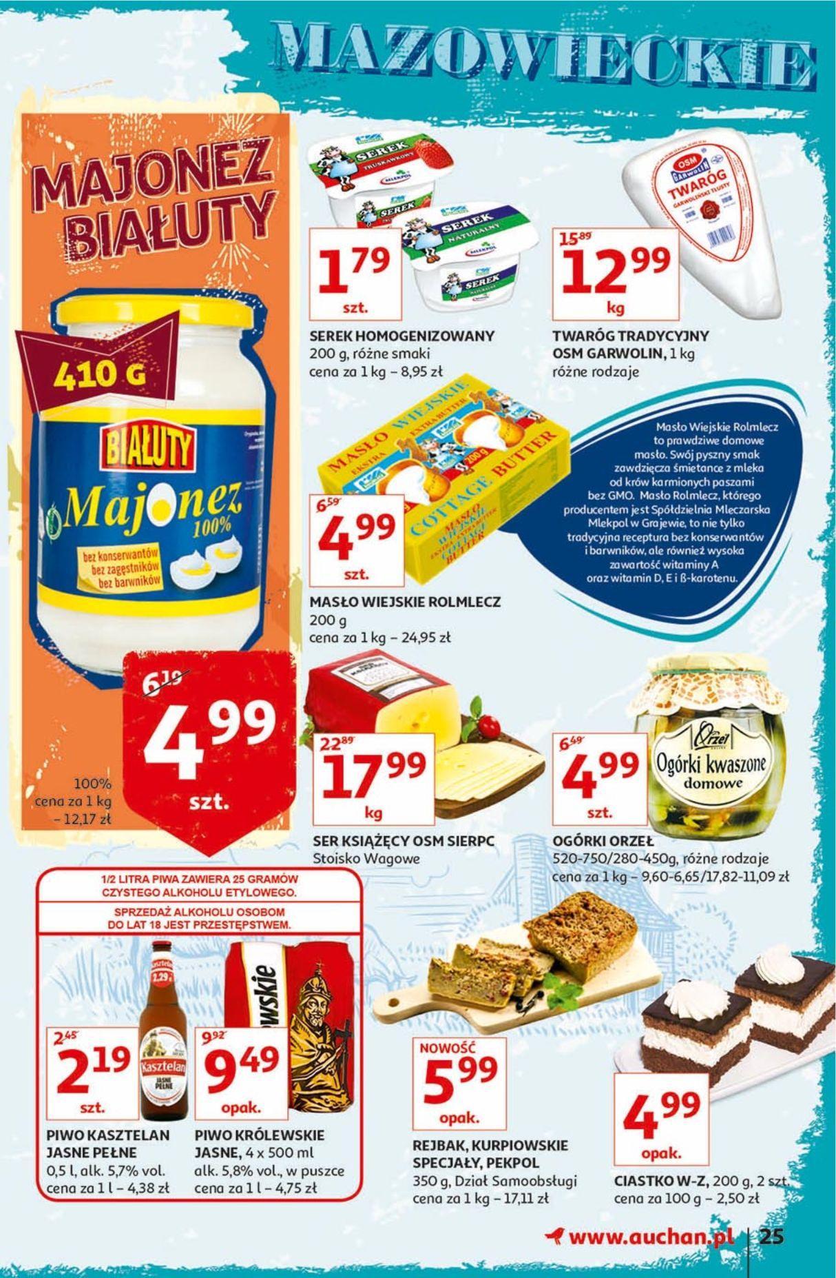 Gazetka promocyjna Auchan do 18/09/2019 str.25