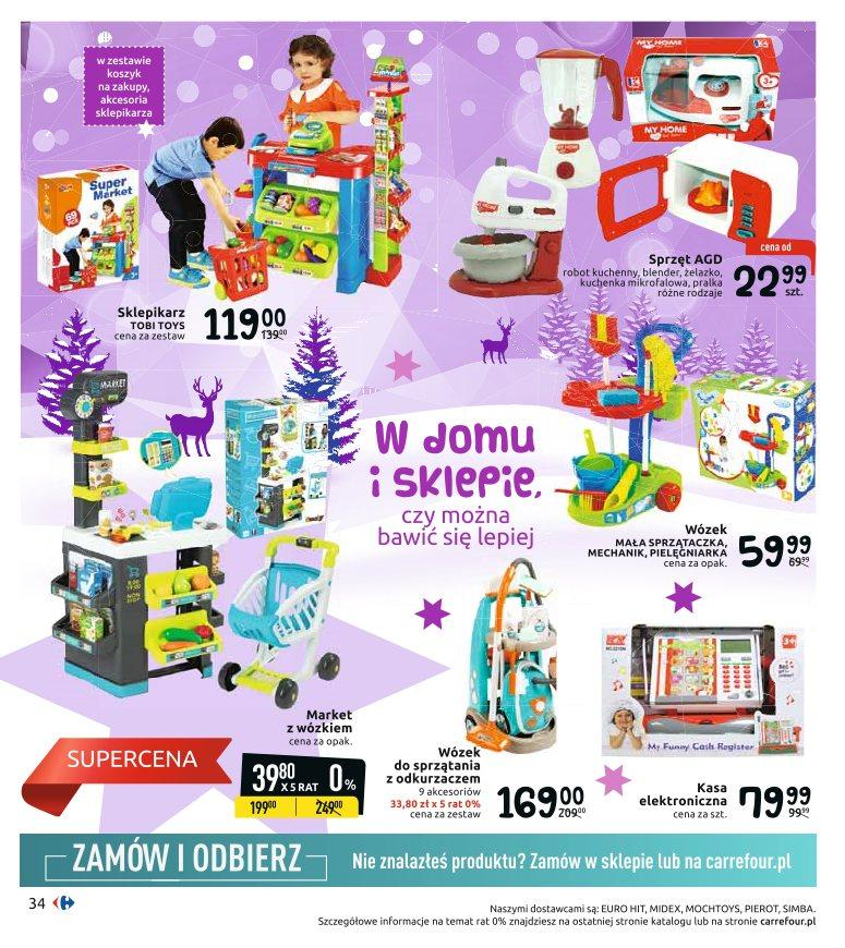 Gazetka promocyjna Carrefour do 24/12/2019 str.34