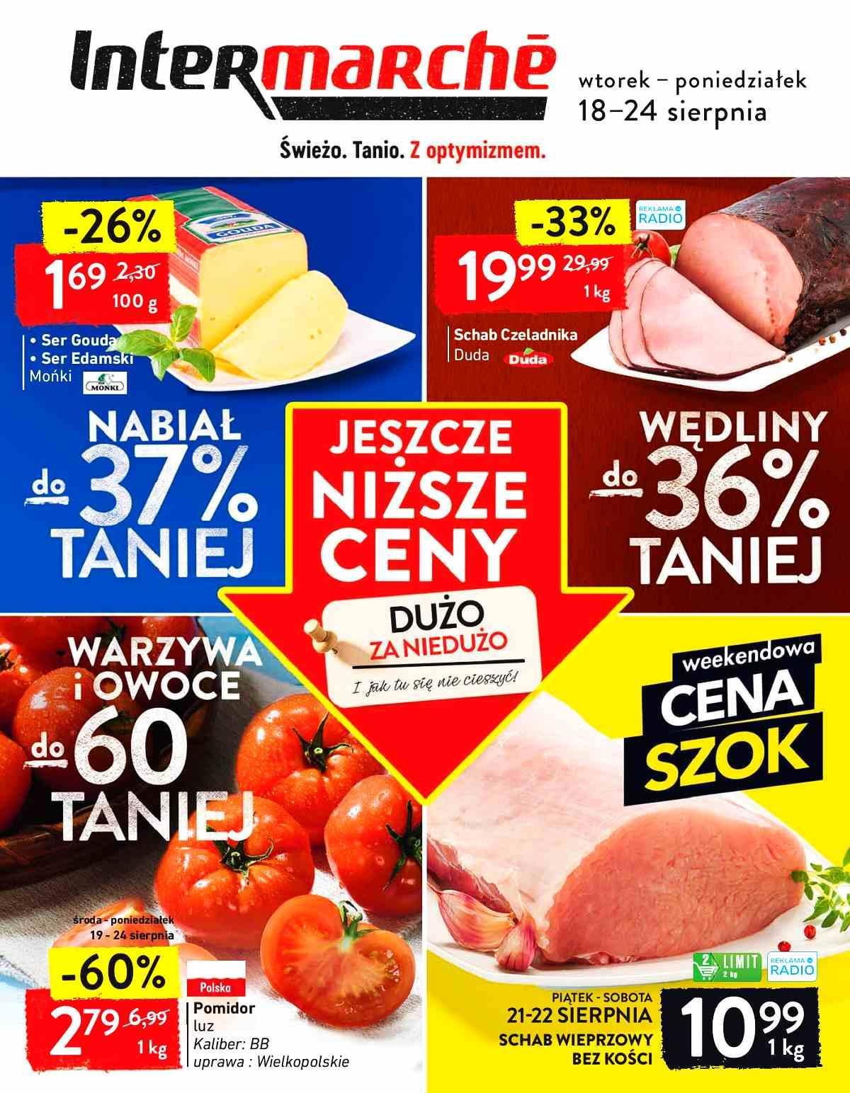 Gazetka promocyjna Intermarche do 24/08/2020 str.1