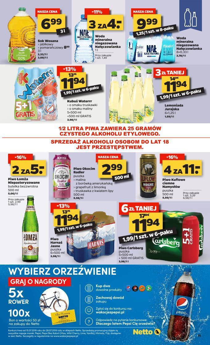 Gazetka promocyjna Netto do 28/07/2019 str.11