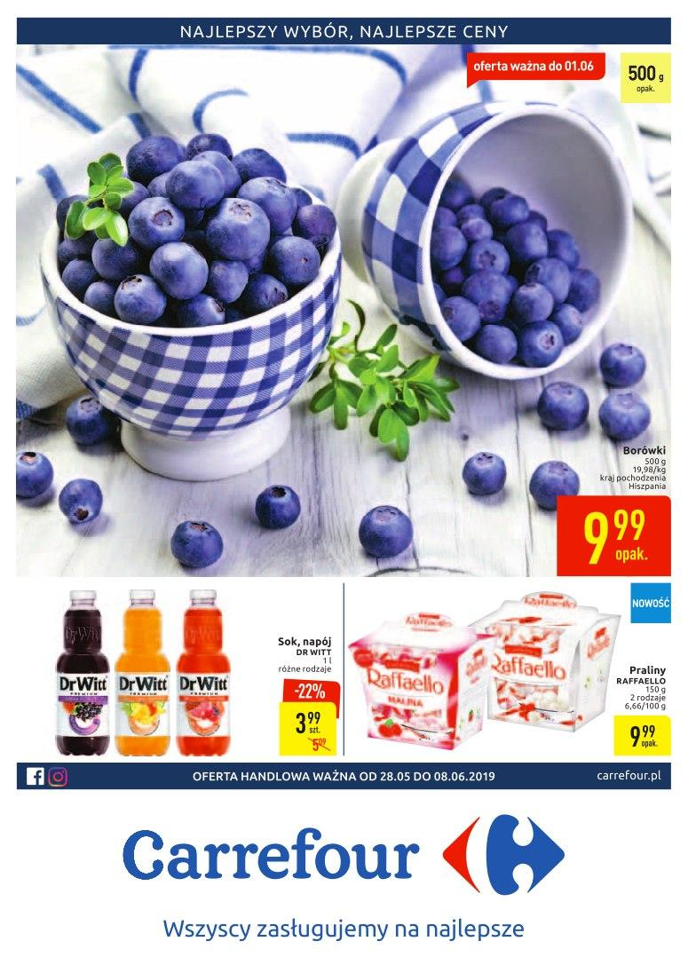 Gazetka promocyjna Carrefour do 08/06/2019 str.0