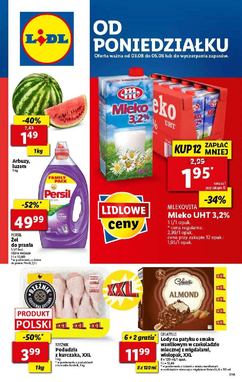 Gazetka promocyjna Lidl do 05/08/2020 str.1