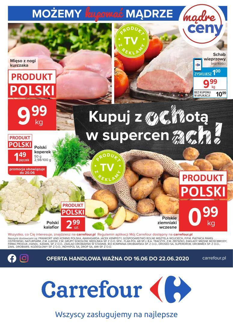 Gazetka promocyjna Carrefour do 22/06/2020 str.0