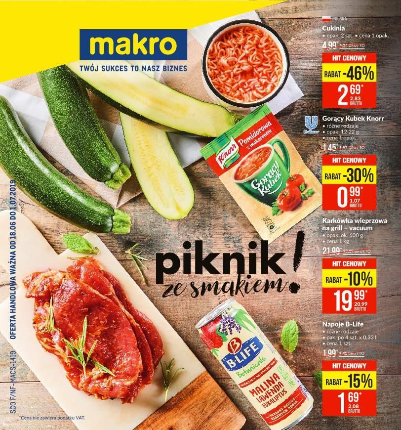 Gazetka promocyjna MAKRO do 01/07/2019 str.0