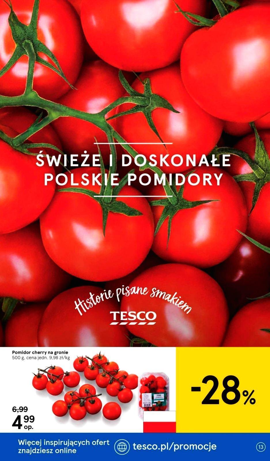 Gazetka promocyjna Tesco do 31/07/2019 str.13