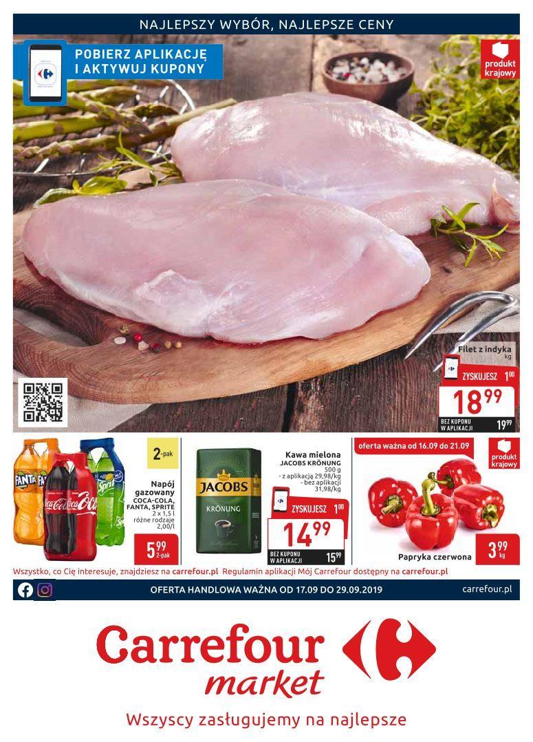 Gazetka promocyjna Carrefour Market do 29/09/2019 str.1