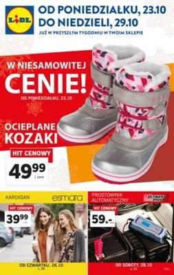 Gazetka promocyjna Lidl - od 16/10/2017 do 22/10/2017