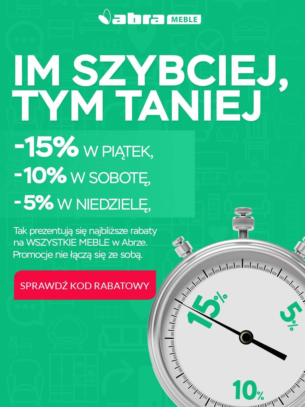 Gazetka promocyjna Abra Meble do 01/07/2018 str.0