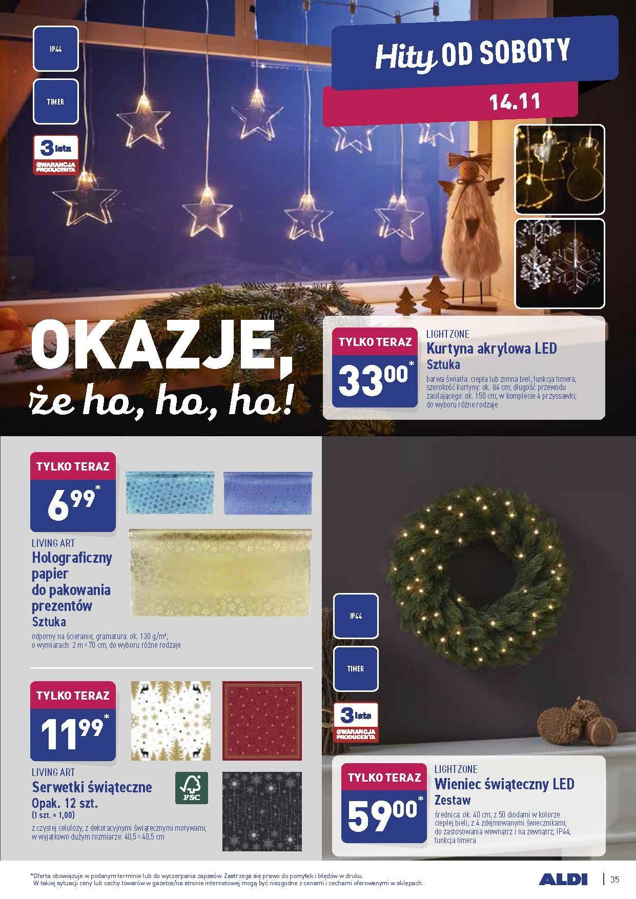 Gazetka promocyjna ALDI do 14/11/2020 str.34