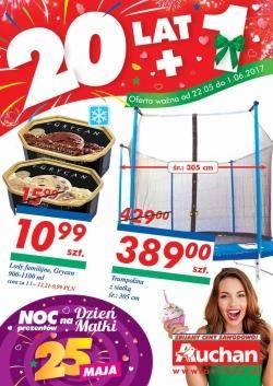 Gazetka promocyjna Auchan - od 22/05/2017 do 01/06/2017