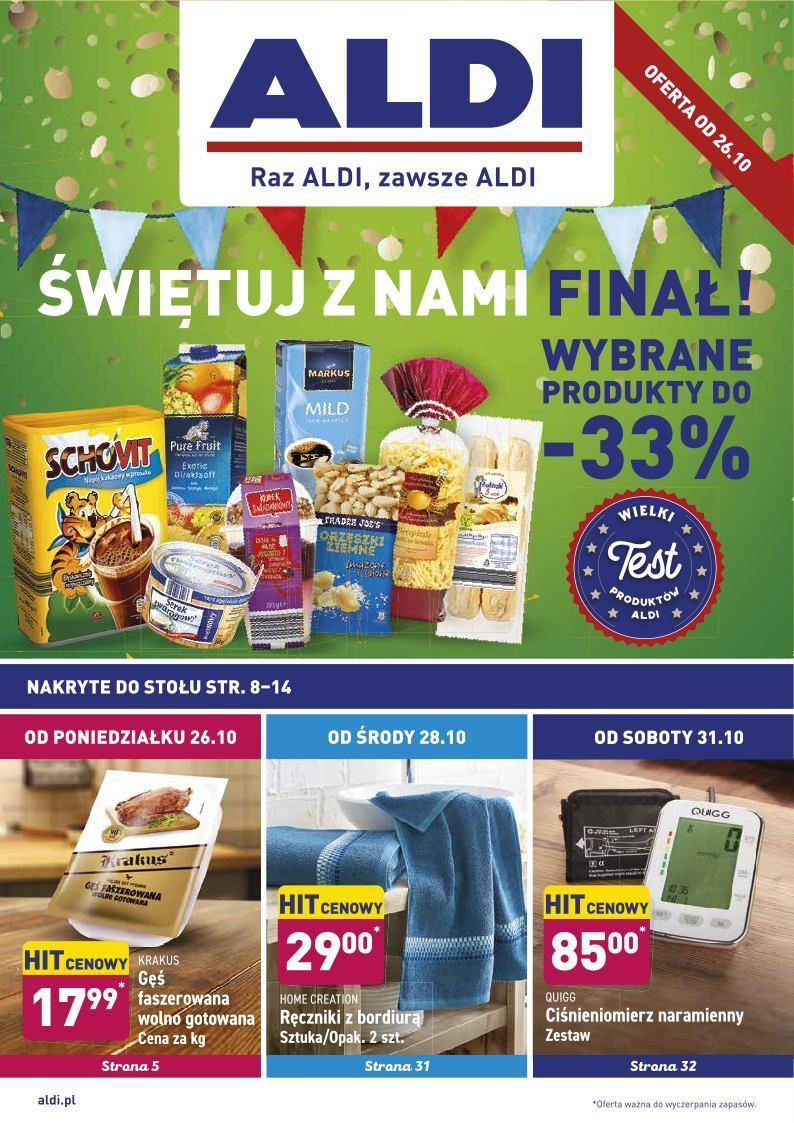 Gazetka promocyjna ALDI do 31/10/2020 str.0