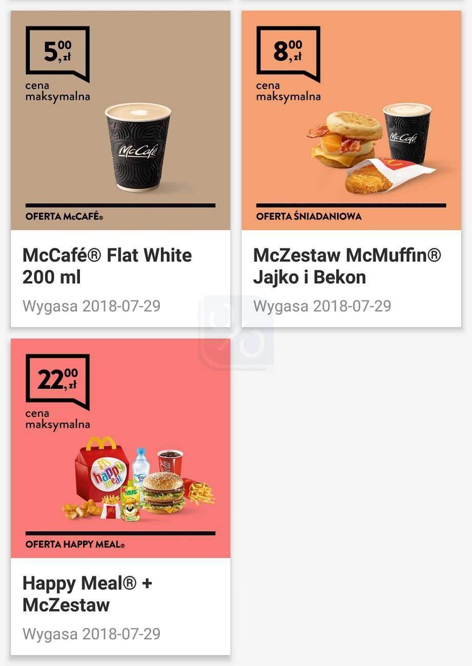 Gazetka promocyjna McDonalds do 29/07/2018 str.1