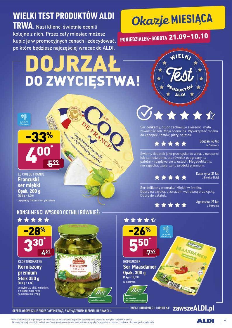 Gazetka promocyjna ALDI do 03/10/2020 str.8