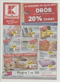 Gazetka promocyjna Kaufland - od 23/02/2017 do 01/03/2017
