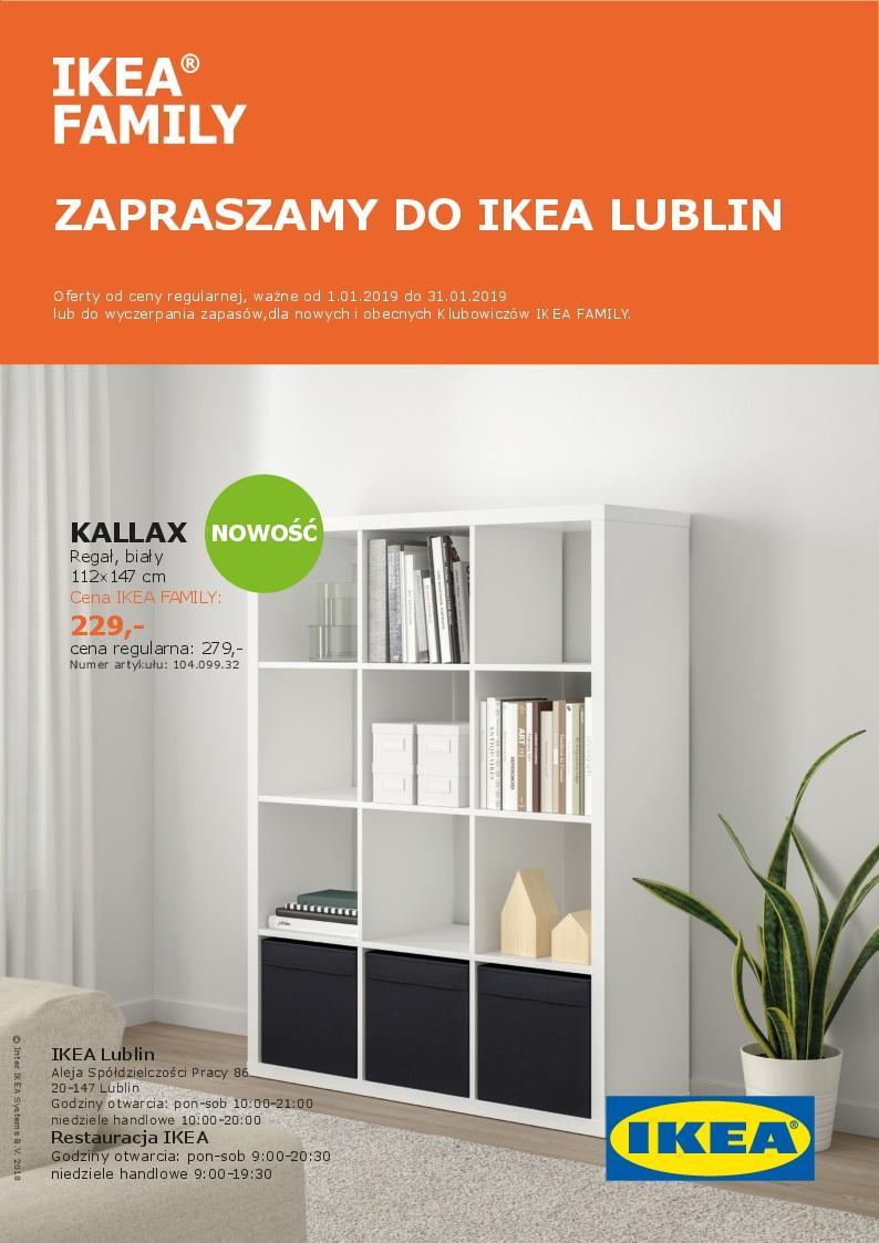 Gazetka promocyjna IKEA do 31/01/2019 str.1