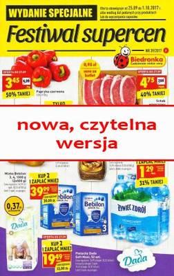 Gazetka promocyjna Biedronka - od 25/09/2017 do 01/10/2017