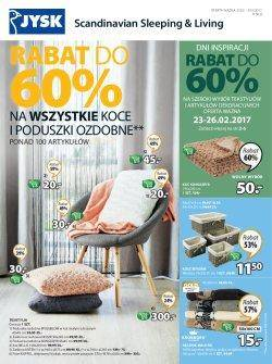 Gazetka promocyjna Jysk - od 23/02/2017 do 08/03/2017