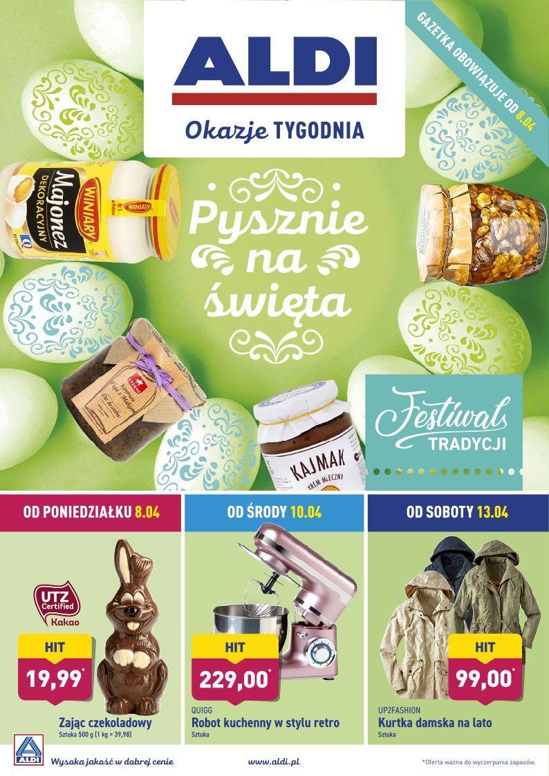 Gazetka promocyjna ALDI do 14/04/2019 str.0