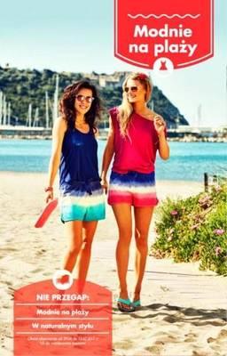 modnie na plaży