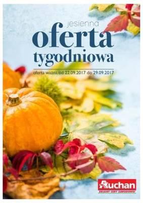 Jesienna oferta tygodniowa