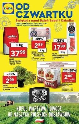 Gazetka promocyjna Lidl - od 18/01/2018 do 21/01/2018