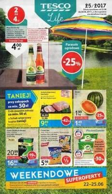 Gazetka promocyjna Tesco - od 22/06/2017 do 28/06/2017