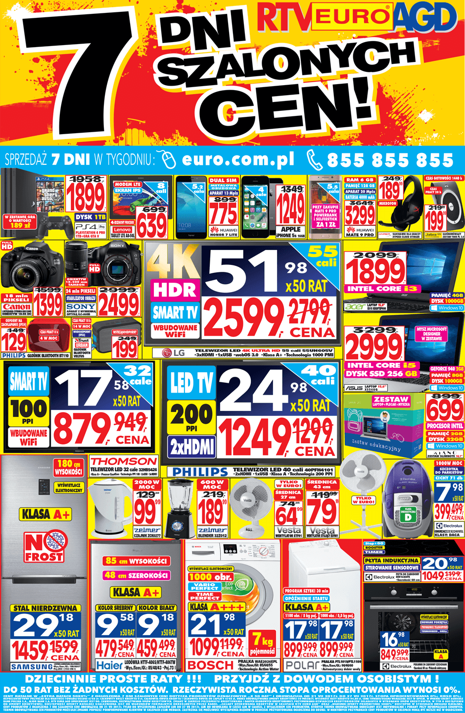 Gazetka promocyjna RTV Euro AGD do 27/07/2017 str.0