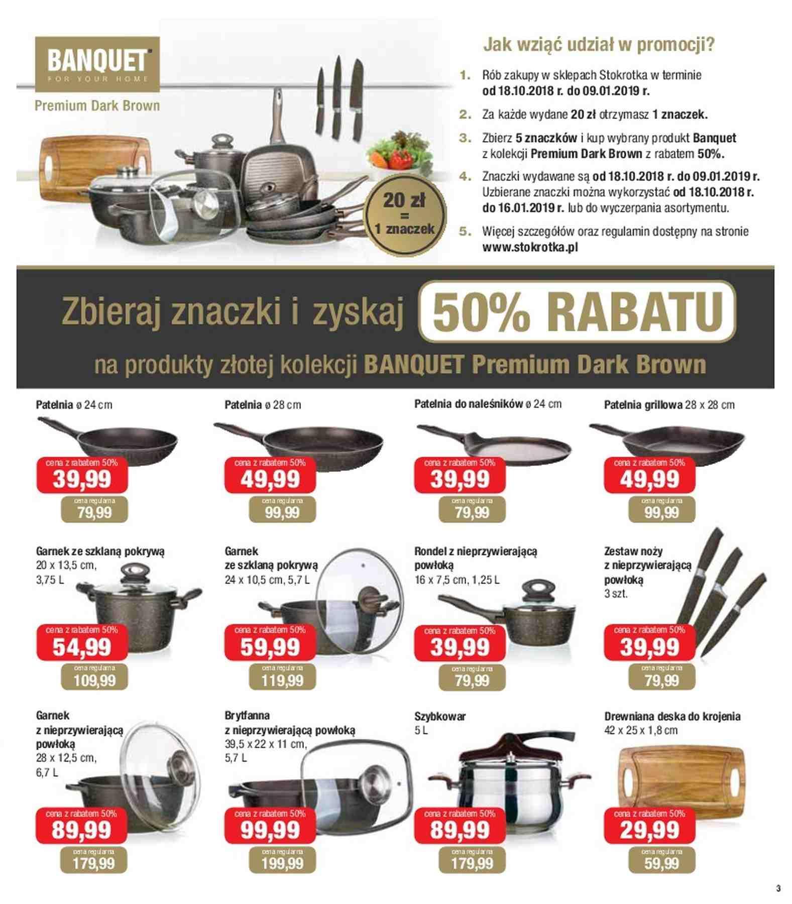 Gazetka promocyjna Stokrotka do 30/10/2018 str.3