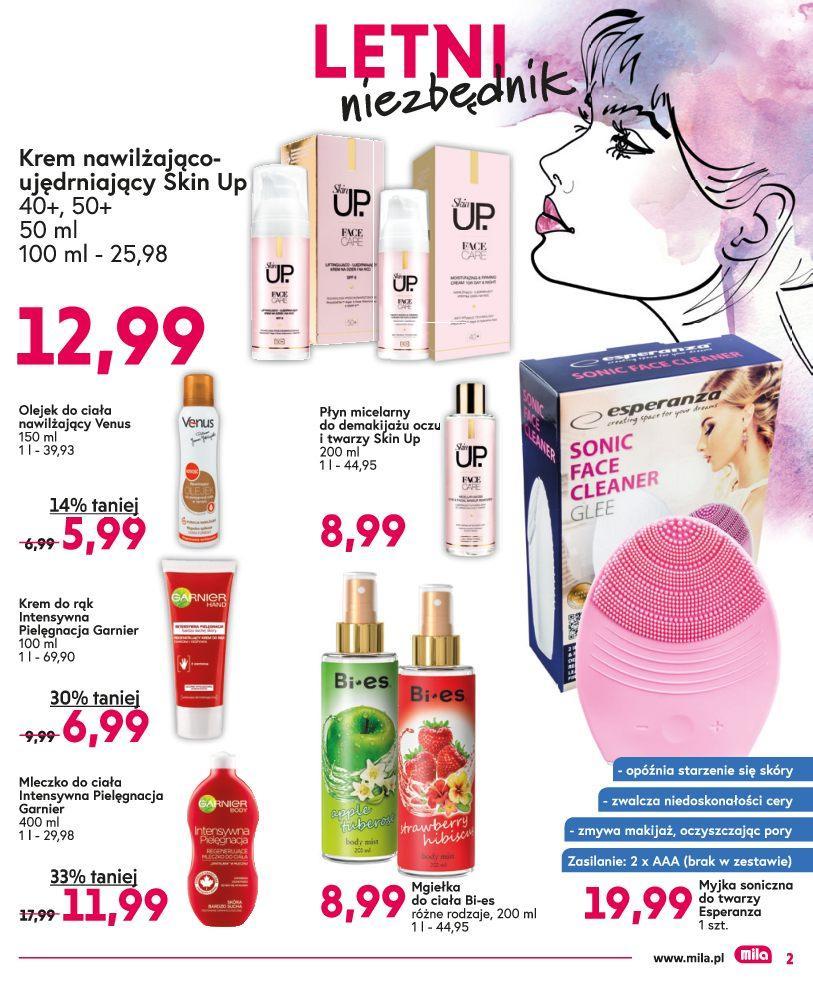 Gazetka promocyjna Mila do 17/07/2018 str.2