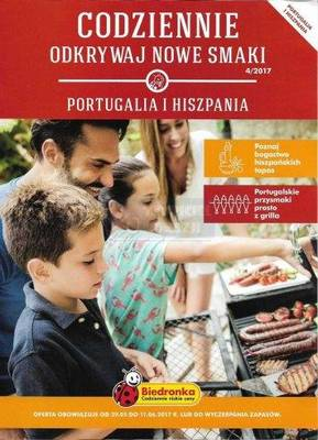 Nowe smaki - Hiszpania i portugalia