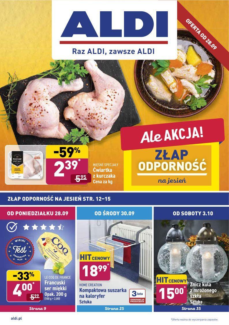 Gazetka promocyjna ALDI do 03/10/2020 str.1